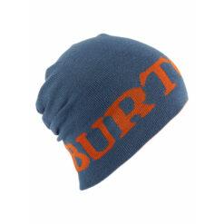 Burton - Billboard Slouch Beanie Washed Blue/Maui - Gråblå/Orange vändbar mössa