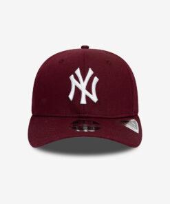 New Era Stretch Snap New York Yankees Vinröd