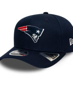 New Era Stretch Snap New England Patriots Mörkblå