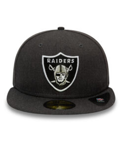 New Era - 59Fifty Raiders - Grå Fitted