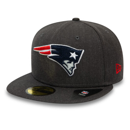 New Era - 59Fifty New England Patriots - Grå Fitted Keps