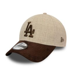 New Era - 39Thirty LA Dodgers - Grå/Mocka MLB Keps