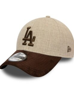 New Era - 39Thirty LA Dodgers - Grå/Mocka MLB Keps