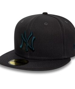 New Era - 59Fifty New York Yankees - Mörkgrå Fitted