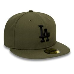 New Era fitted keps - 59Fifty Los Angeles Dodgers - Grön