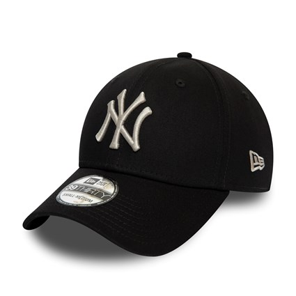 New Era - 39Thirty NY Yankees - Svart/Silver Keps