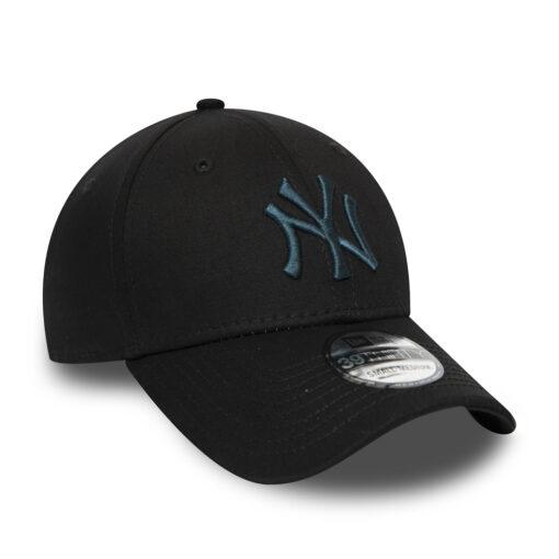 New Era - 39Thirty NY Yankees - Svart/Grönblå MLB Keps