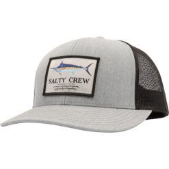 Salty Crew -Marlin Mount Retro Trucker - Grå Svart - Fram