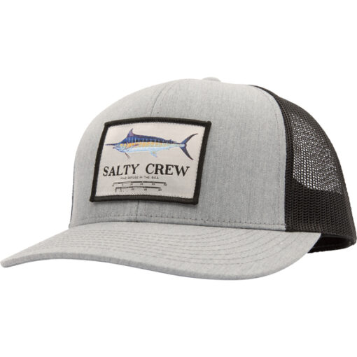 Salty Crew -Marlin Mount Retro Trucker - Grå Svart - Fram