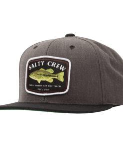Salty Crew - Bigmouth 6 Panel - Mörkgrå - Fram
