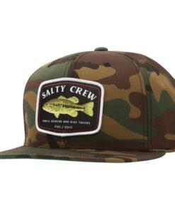 Salty Crew - Bigmouth 6 Panel - Camo- Fram