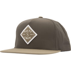 Salty Crew - Tippet tech 5 panel - Mörkgrå  - Fram