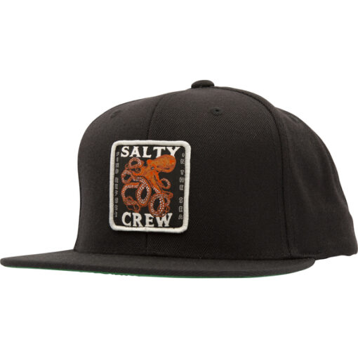Salty Crew - Squiddy 6 Panel - Svart - Fram