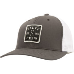 Salty Crew - S-Hook Retro trucker - Grå vit - Fram