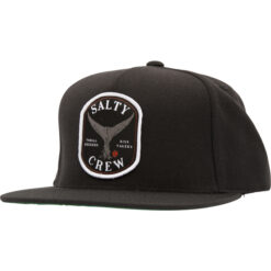 Salty Crew - Fishstone 5 Panel - Svart - Fram