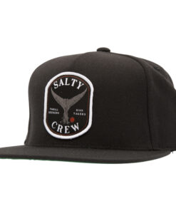 Salty Crew - Fishstone 5 Panel - Svart - Fram