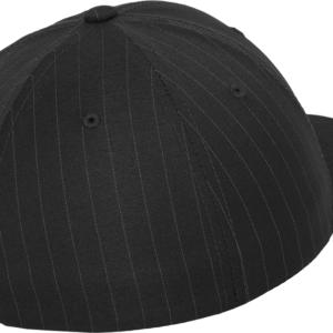 Flexfit - Pinstripe - Mörkgrå bak