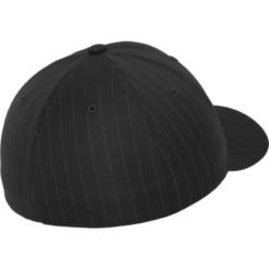 Flexfit Keps -Pinstripe - Mörkgrå/Vit
