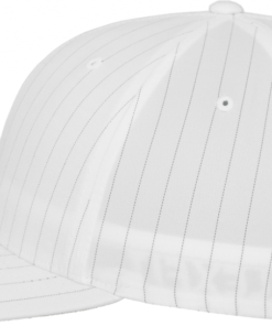 Flexfit - Pinstripe - Vit/Svart sidan