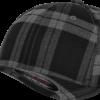 Flexfit - Tartan Plaid - Svart/Grå fram sidan