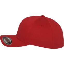 Flexfit - Wooly Combed - Röd