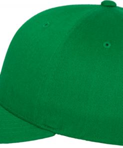 Flexfit - Wooly Combed - Grön Sidan