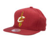 Mitchell and ness Cleveland cavalies snapback röd