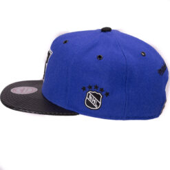 New York Rangers Snapback blå svart mitchell and ness NHL