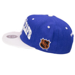 Snapback Mitchell and ness blå Toronto Maple Leafs NHL