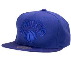 New York Knicks Kepsar NBA Blå Mitchell and ness