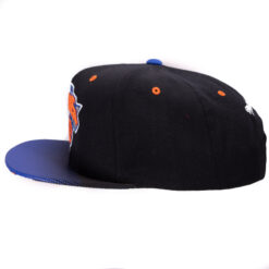 Snapback Mitchell and ness svart/blå New York Knicks