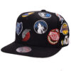 NBA West Mitchell and ness snapback svart