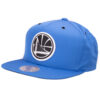 Kepsar Mitchell and ness NBA Golden state warriors ljusblå