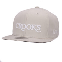 Crooks and Castle Serif new era beige 2017