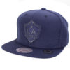 LA Galaxy Mörkblå snapback keps mitchell and ness