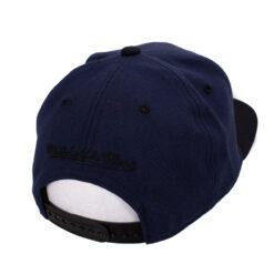 Snapback keps Mitchell and ness Box logo vit svart