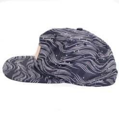 Crooks and castle Scavenger vit marinblå navy snapback