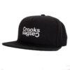 Crooks and Castle Opposite svart black snapback