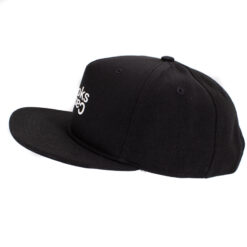 Crooks and Castle Opposite svart black snapback