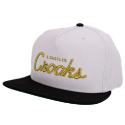 Crooks And Castle Team Crooks Vit svart guld