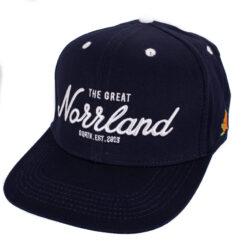 SQRTN Great Norrland Snapback mörkblå