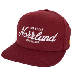SQRTN The Great Norrland Vinröd Snapback