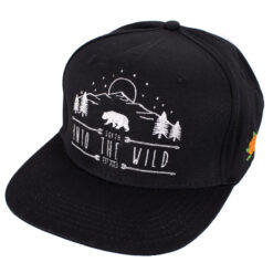 SQRTN In To The Wild svart Snapback