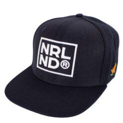 SQRTN Mörkblå NRLND Snapback Keps