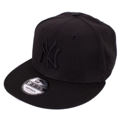 New Era New york yankees svart snapback