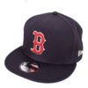 New Era Red sox snapback mörkblå keps