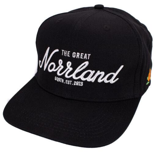 SQRTN Great Norrland keps svart flat