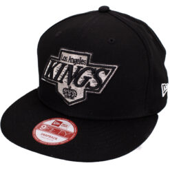 Los Angeles kings svart snapback keps new era
