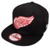 Red Wings keps new era svart röd snapback