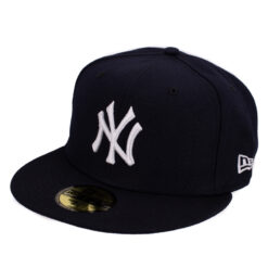 New era New york svart fitted keps